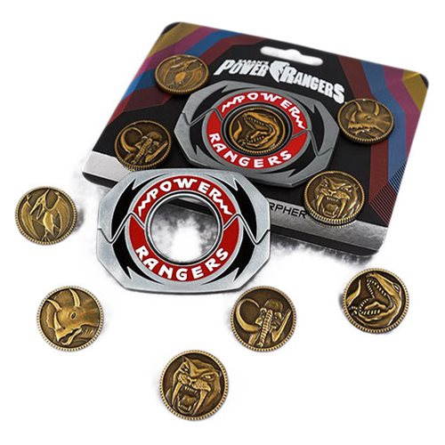 Mighty Morphin Power Rangers Legacy Power Morpher Pin Set