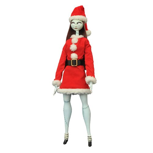 Nightmare Before Christmas Santa Sally Coffin Doll