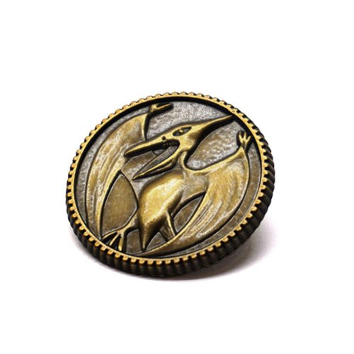 Mighty Morphin Power Rangers Pterodactyl Power Coin Pin