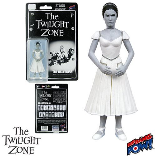 The Twilight Zone Five Characters in Search of an Exit Ballet Dancer 3 3/4-Inch Action Figures Series 3