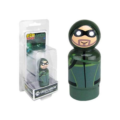 Arrow TV Series Green Arrow Pin Mate Wooden Figure