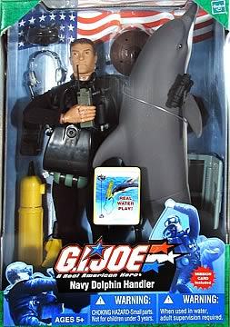 G I  Joe Navy Dolphin Handler