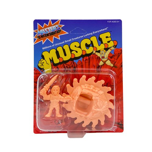 Masters of the Universe M.U.S.C.L.E. Mini-Figures Wave 3 F-Pack