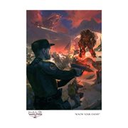 Halo Wars 2 Know Your Enemy by Garrett Post Paper Giclee Art Print - SDCC 2017 Exclusive