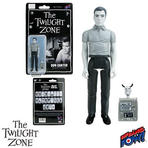 The Twilight Zone Nick of Time Don Carter 3 3/4-Inch Action Figure Series 4