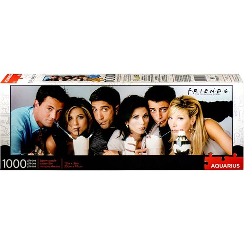 Friends Milkshake 1,000-Piece Slim Puzzle