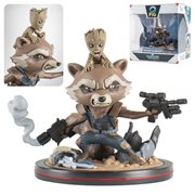 Guardians of the Galaxy Vol. 2 Rocket and Groot Q-Fig PVC Figure