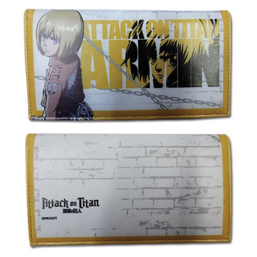 Attack on Titan Armin Girls Wallet