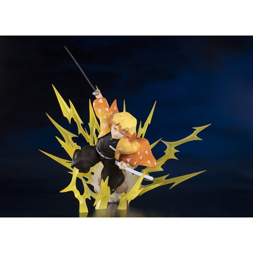 Demon Slayer Agatsuma Zenitsu Thunder Breathing Figuarts ZERO Statue