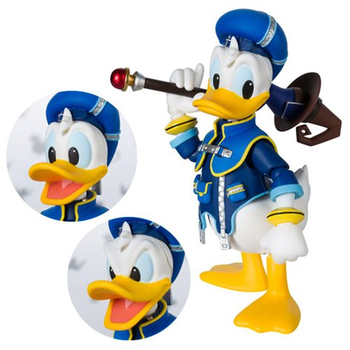 Kingdom Hearts II Donald Duck SH Figuarts Action Figure