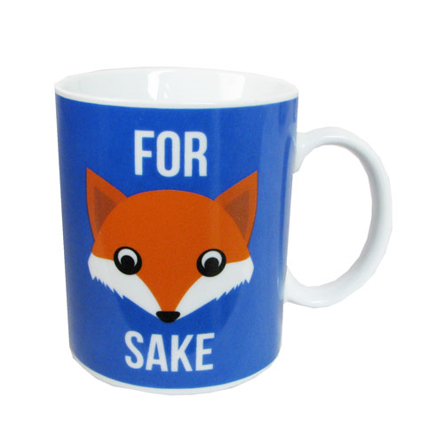 For Fox Sake 10 oz. Coffee Mug