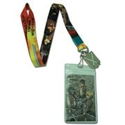 Attack on Titan Group and Sword Lanyard Key Chain