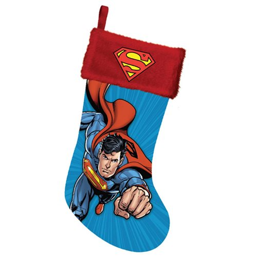 Superman 19-Inch Printed Stocking