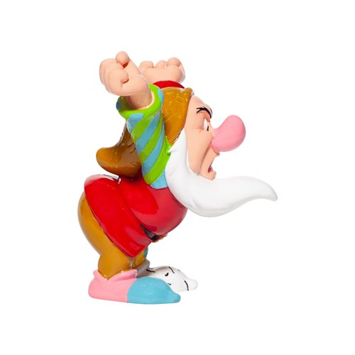 Disney Snow White and the Seven Dwarfs Grumpy Mini-Statue by Romero Britto