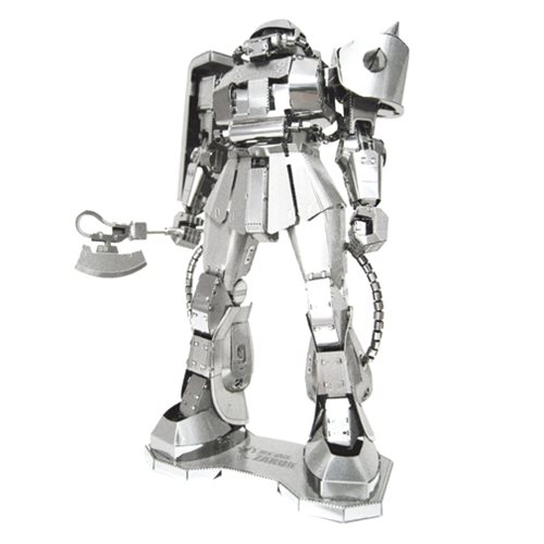 Mobile Suit Gundam Zaku II Metal Earth Iconx Model Kit