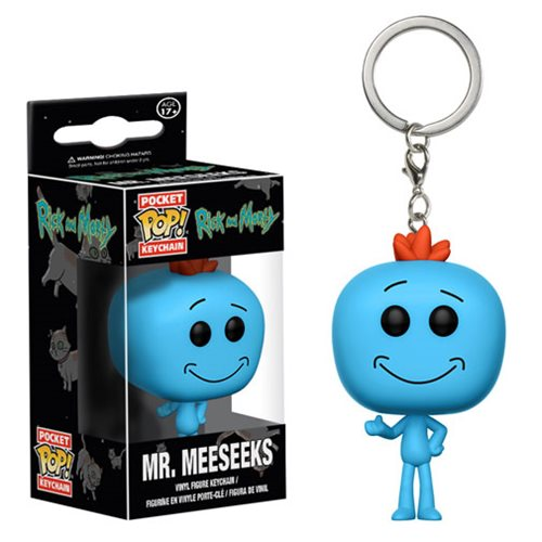 Rick and Morty Mr. Meeseeks Pocket Pop! Key Chain