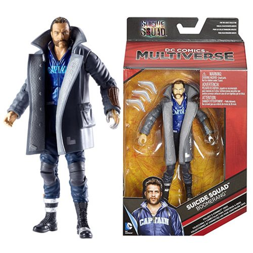 DC Multiverse Suicide Squad Boomerang 6-Inch Action Figure, Not Mint
