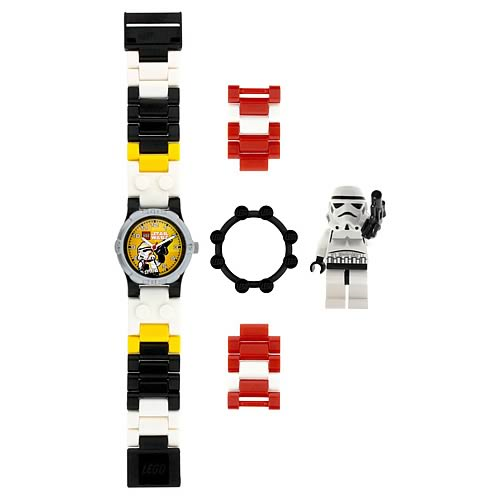 LEGO Star Wars Stormtrooper Kids Watch with Minifigure