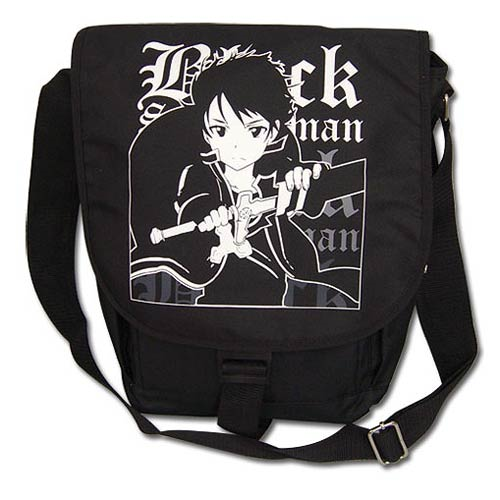 Sword Art Online Black Swordsman Black Messenger Bag