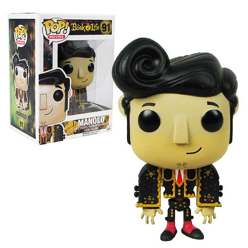 The Book of Life Manolo Pop! Vinyl Figure, Not Mint