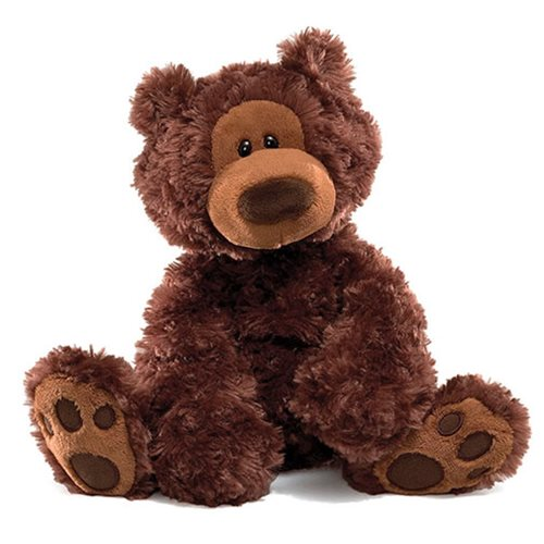 Philbin Bear Chocolate 12-Inch Plush