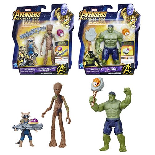 Avengers: Infinity War 6-Inch Action Figures Stones Wave 1 Revision 1 Set