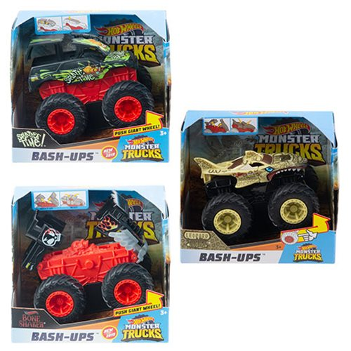 Hot Wheels Monster Trucks 1:43 Scale Bash Ups Mix 2 Case