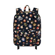 Harry Potter Chibi Character Print Nylon Backpack