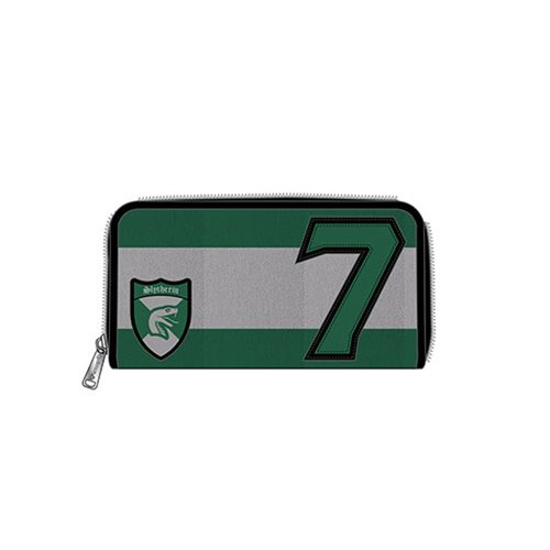 Harry Potter Slytherin D. Malfoy Zip-Around Wallet