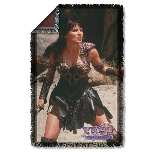 Xena: Warrior Princess Warrior Woven Tapestry Throw Blanket