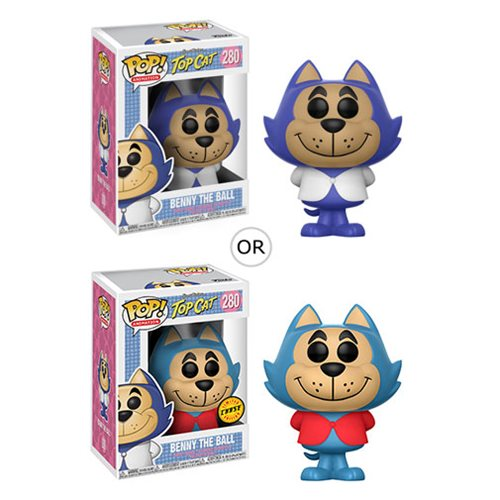 Hanna-Barbera Benny the Ball Pop! Vinyl Figure #280, Not Mint