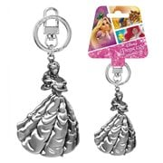 Beauty and the Beast Belle Pewter Key Chain
