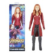 Avengers: Infinity War Titan Hero Series Scarlet Witch with Titan Hero Power FX Port  12-Inch Action Figure
