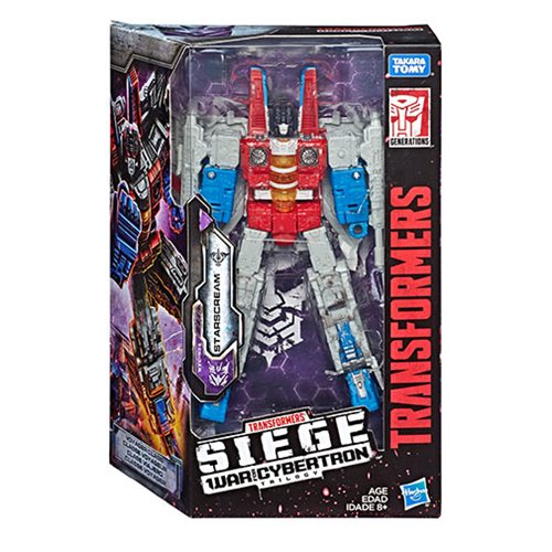Transformers Generations War for Cybertron: Siege Voyager Starscream