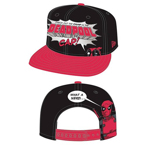 Deadpool Chump 950 Snap Back Cap