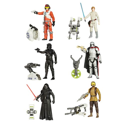 Star Wars: The Force Awakens 3 3/4-Inch Jungle and Space Action Figures Wave 1 Case