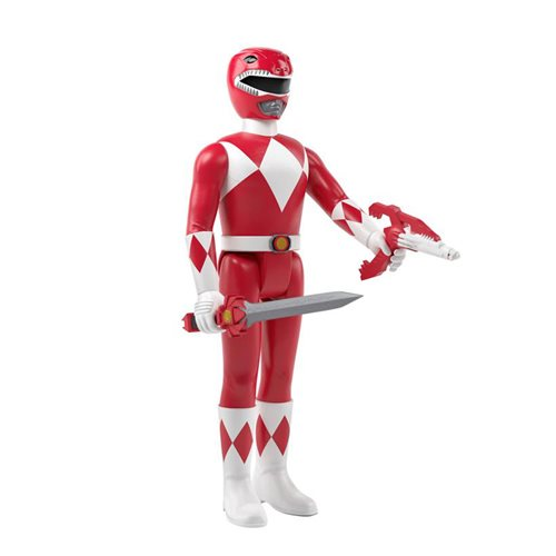 Mighty Morphin Power Rangers Red Ranger 3 3/4-Inch ReAction Figure