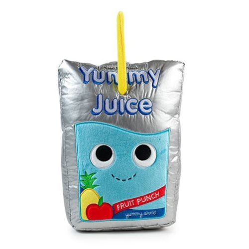 Yummy World Jake The Juice Pouch Medium Plush