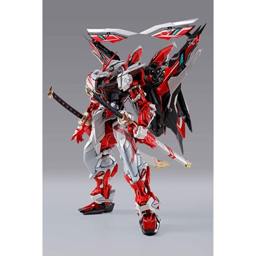 Alternative Strike Gundam Astray Red Frame Kai Metal Build Action Figure