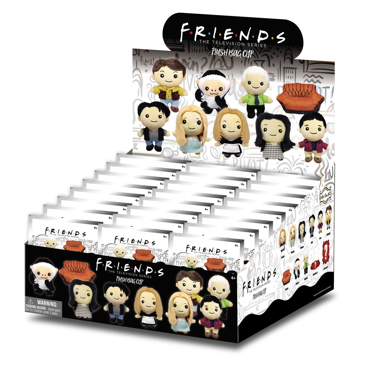Friends The Television Series Plush Bag Clip Rachel