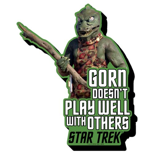 Star Trek Gorn Quote Funky Chunky Magnet