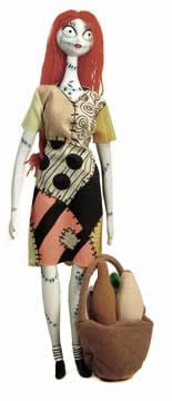 nbx sally doll opened - Nightmare Before Christmas Sally Doll