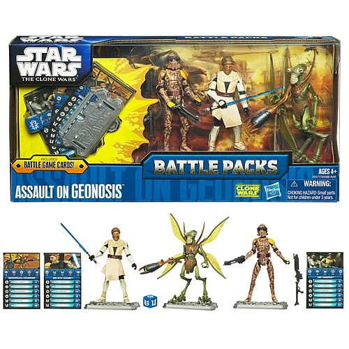 Star Wars Assault on Geonosis Action Figure Battle Pack
