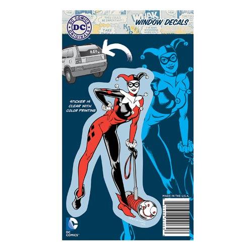 Batman Originals Harley Quinn Full Color Decal