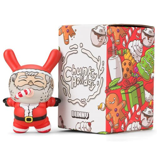 Chunky Santa by Alex Solis Holiday 3-Inch Dunny Vinyl Figure