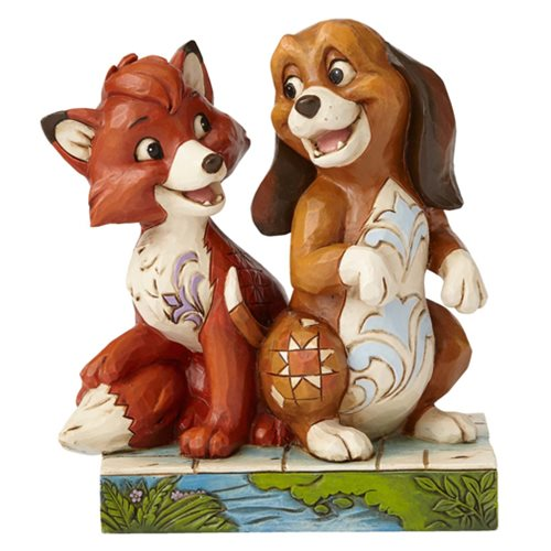 Disney Traditions Fox and the Hound Unexpected Friendships Statue