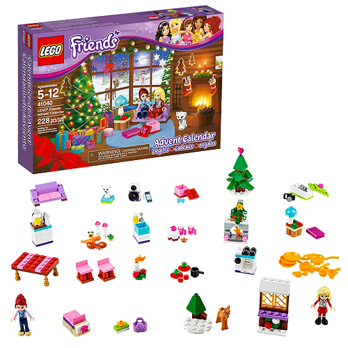 Weihnachtskalender Lego Friends.Lego Friends 41040 Advent Calendar