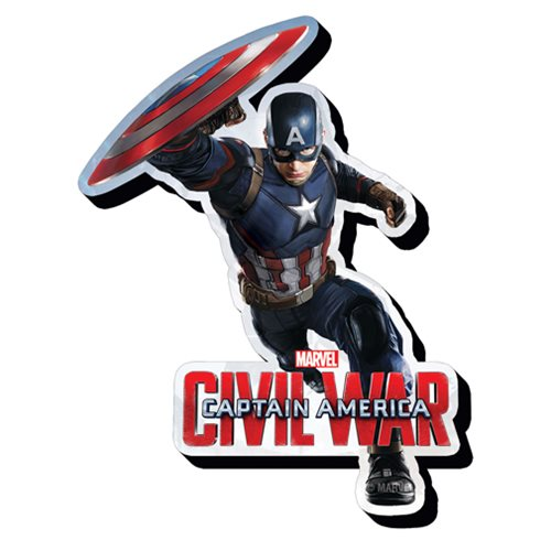 Captain America: Civil War Captain America Funky Chunky Magnet