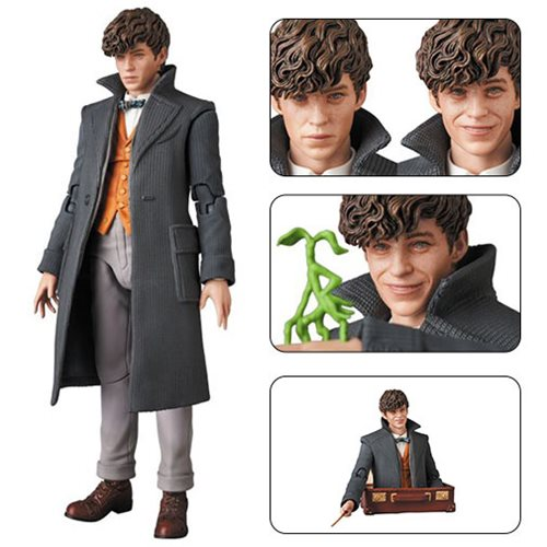 Fantastic Beasts: The Crimes of Grindelwald Newt Scamander MAFEX Action Figure