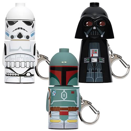 Star Wars Stack-ems Key Chains Series 1 Set
